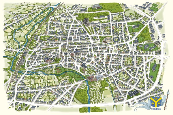 illustrateur-cartographie-illustree-plan-ville-issoudun