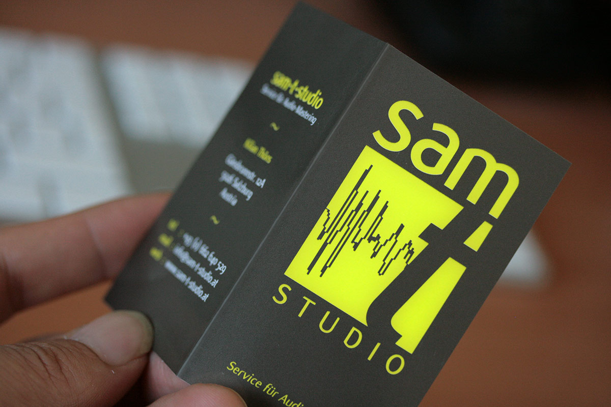 Edition Carte De Visite Sam 1