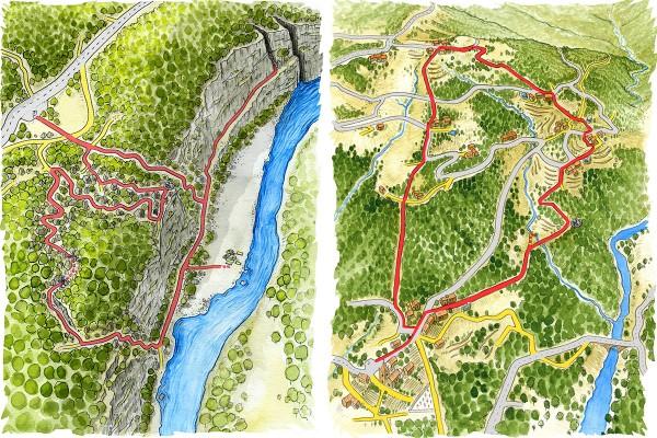 illustrateur-cartographie-illustree-randonnee-aquarelle-1