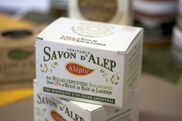 Boite de veritable savon d'alep Premium