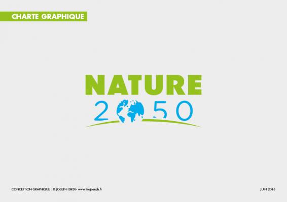 Couverture de la charte graphique Nature 2050