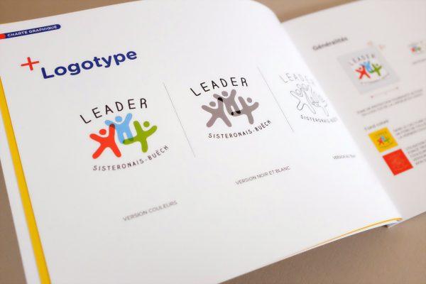 le logo Leader Sisteronais Buëch